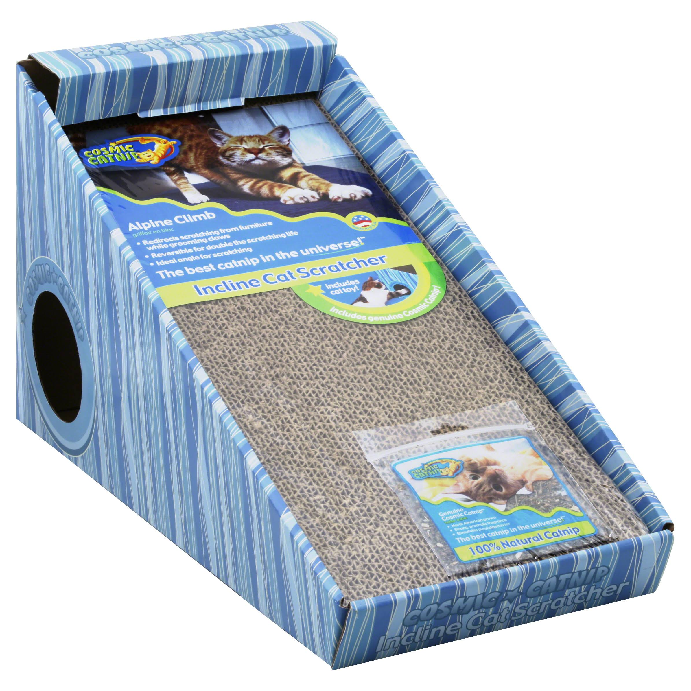 Cosmic Catnip Alpine Cat Scratcher