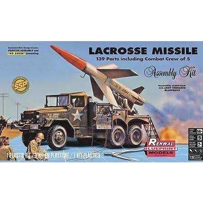 Revell 1:32 Scale Lacrosse Missile Plastic Model Kit