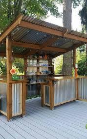 best 25 diy outdoor bar ideas on pinterest deck decorating