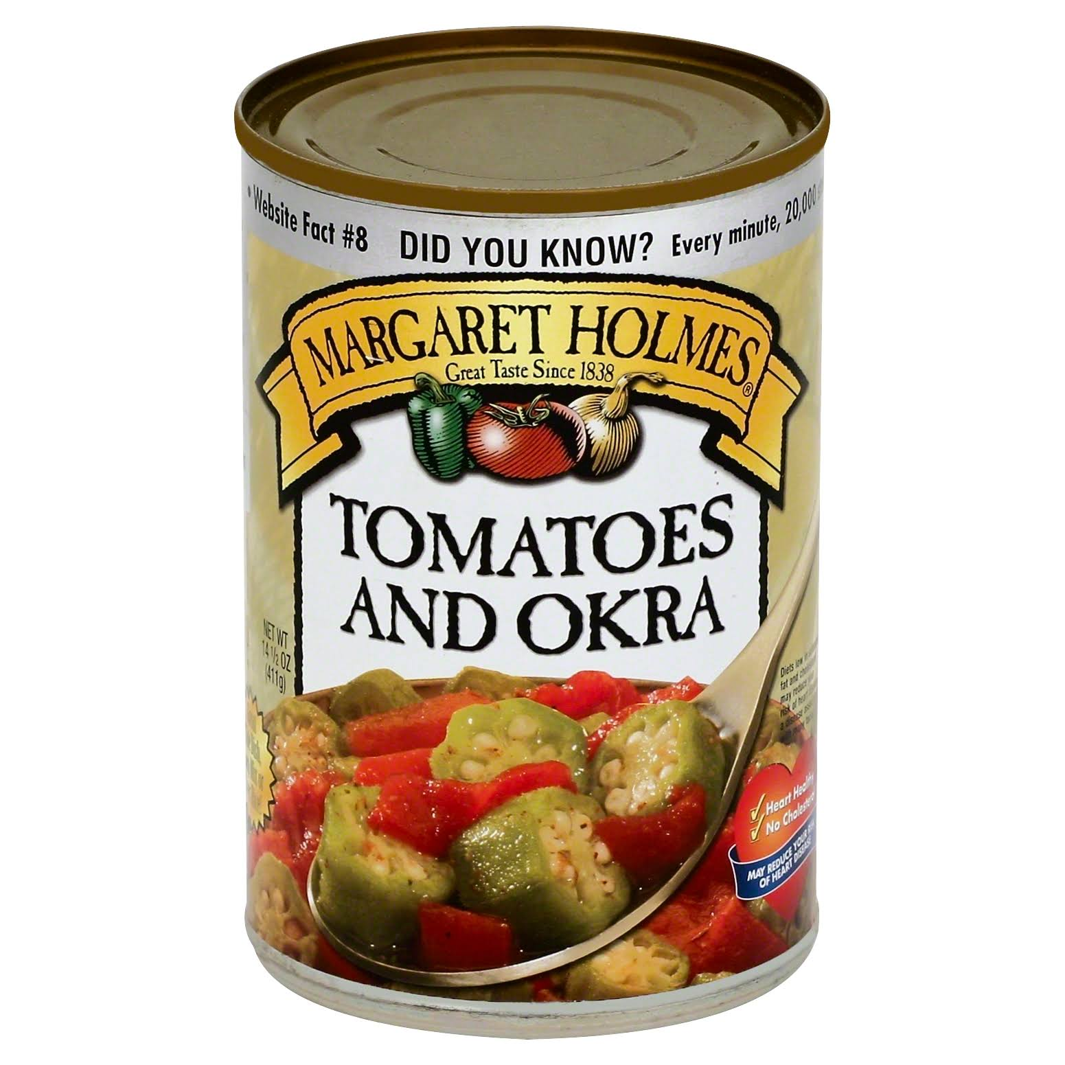 Margaret Holmes Tomatoes and Okra - 14.5 oz