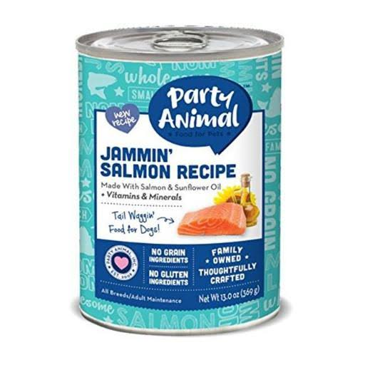 Party Animal Can Dog Jammin Salmon 13 oz