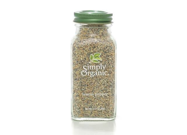 Simply Organic Lemon Pepper