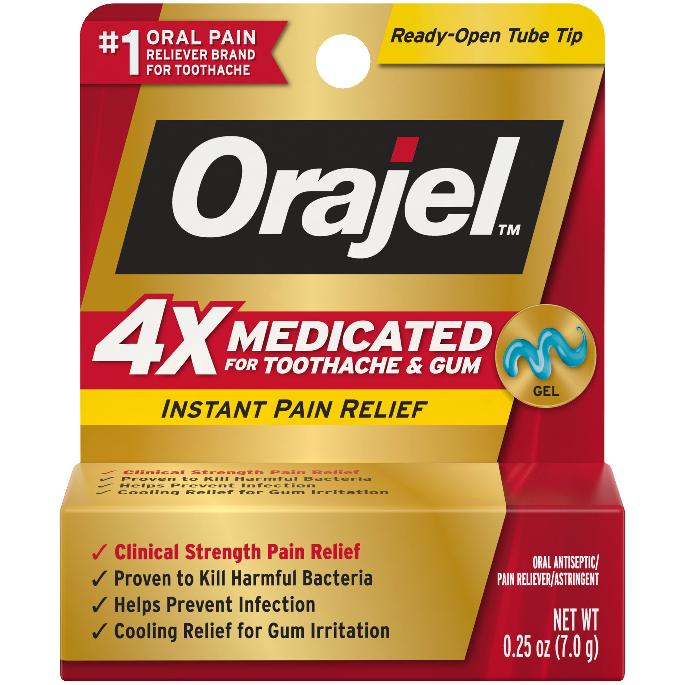 Orajel Maximum Strength Oral Pain Reliever - 0.25oz