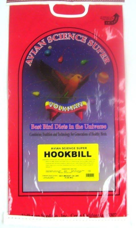 Food Volkman Seed Avian Science Super Hookbill - 20lb