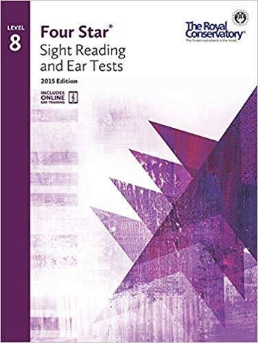 Royal Conservatory Four Star Sight Reading and Ear Tests: Level 8 Book 2015 Edition - Boris Berlin and Andrew Markow