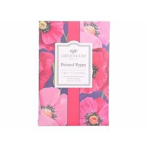 Greenleaf Gifts Painted Poppy Large Sachet