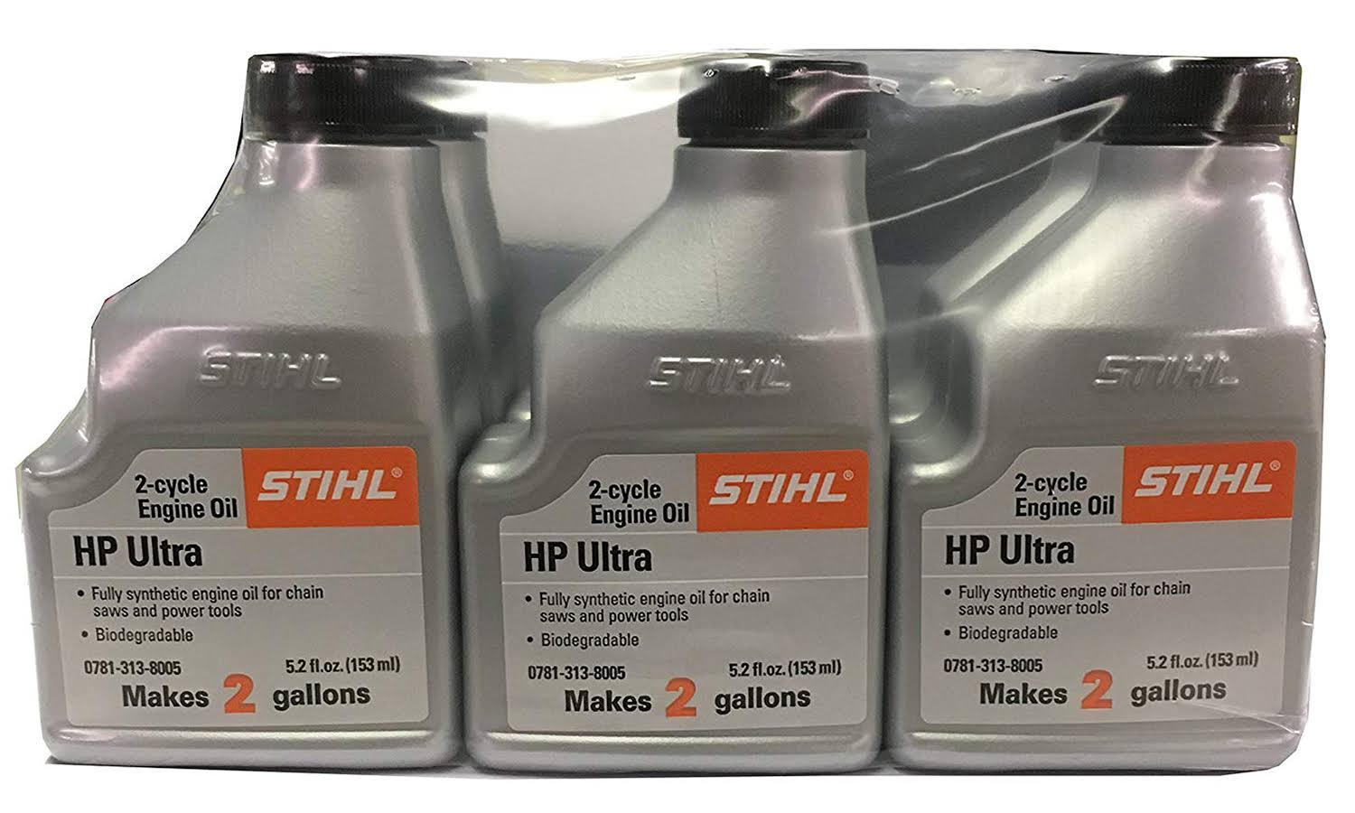 Stihl High Performance Ultra 2-Cycle Engine Oil - 2.5gal
