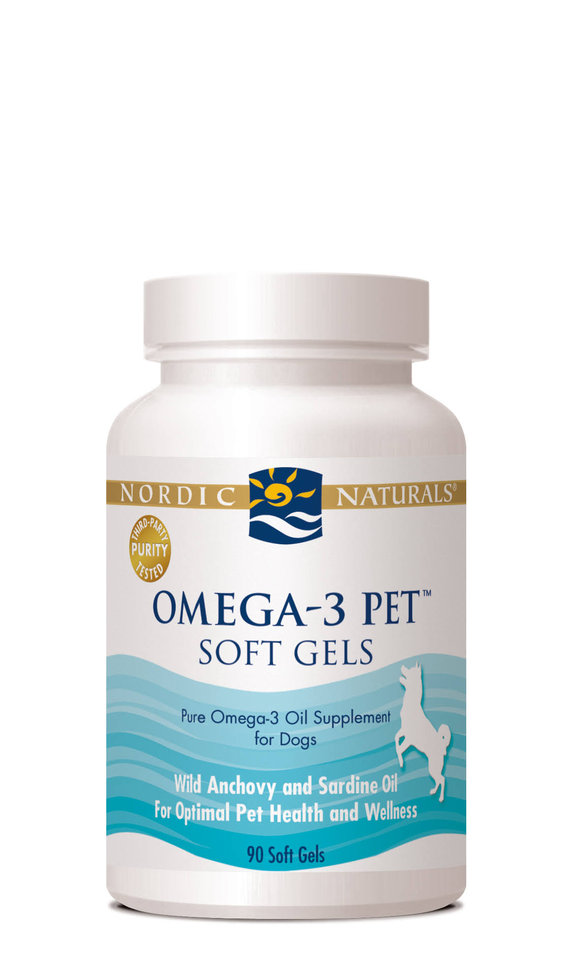 Nordic Naturals Omega-3 Oil Pet for Dogs - 90 Soft Gels