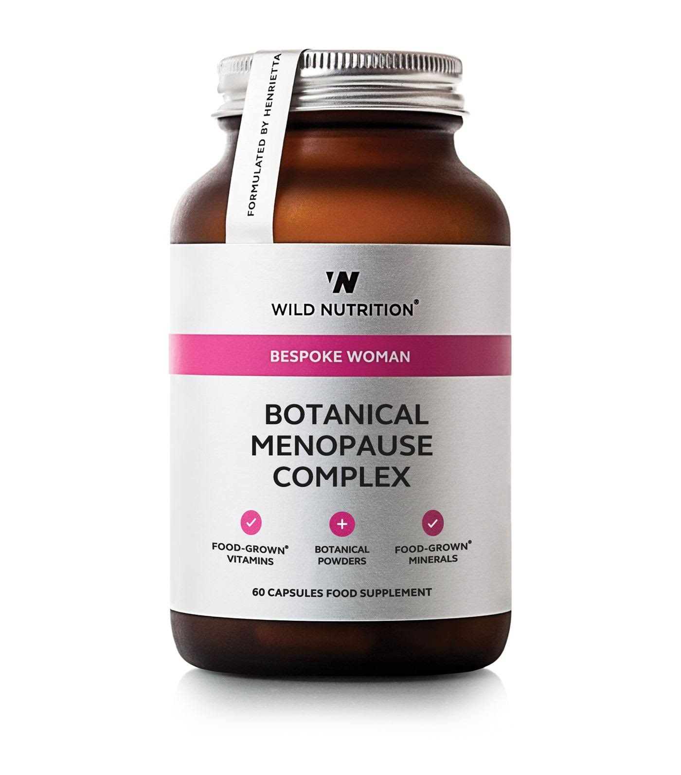Wild Nutrition - Food-Grown Botanical Menopause Complex - 60 Capsules