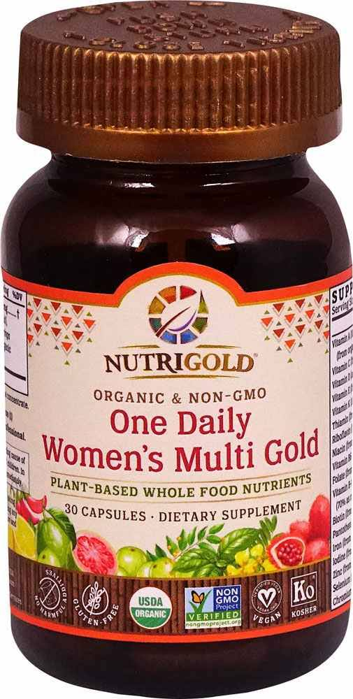 Nutrigold Multi-Gold, One Daily, Women's, Capsules - 30 capsules