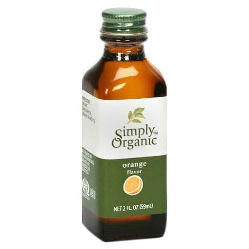 Simply Organic Oil - Orange, 59ml