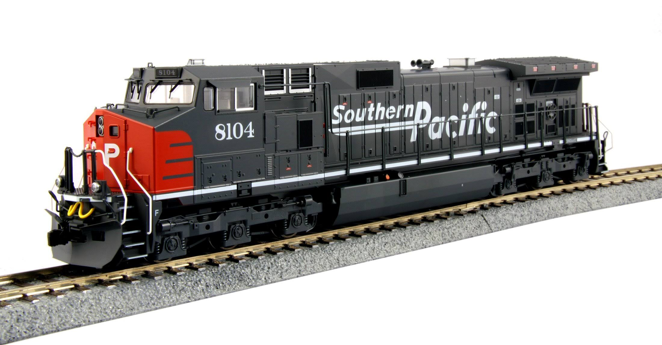 Kato C44-9W Locomotive Southern Pacific SP Train Model Toy - HO Scale