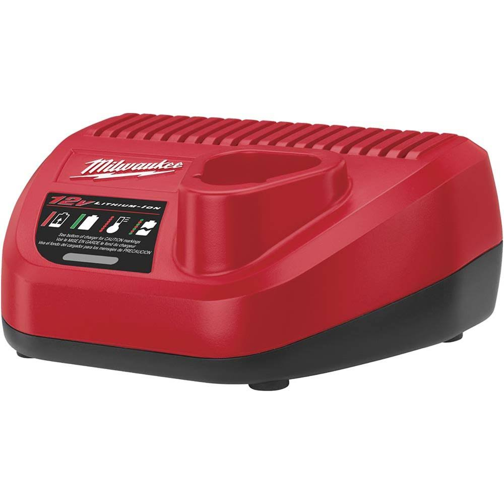 Milwaukee M12 Lithium-Ion Battery Charger - 12V