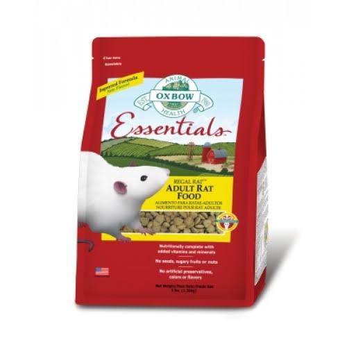 Oxbow Regal Rat Food - 3lb