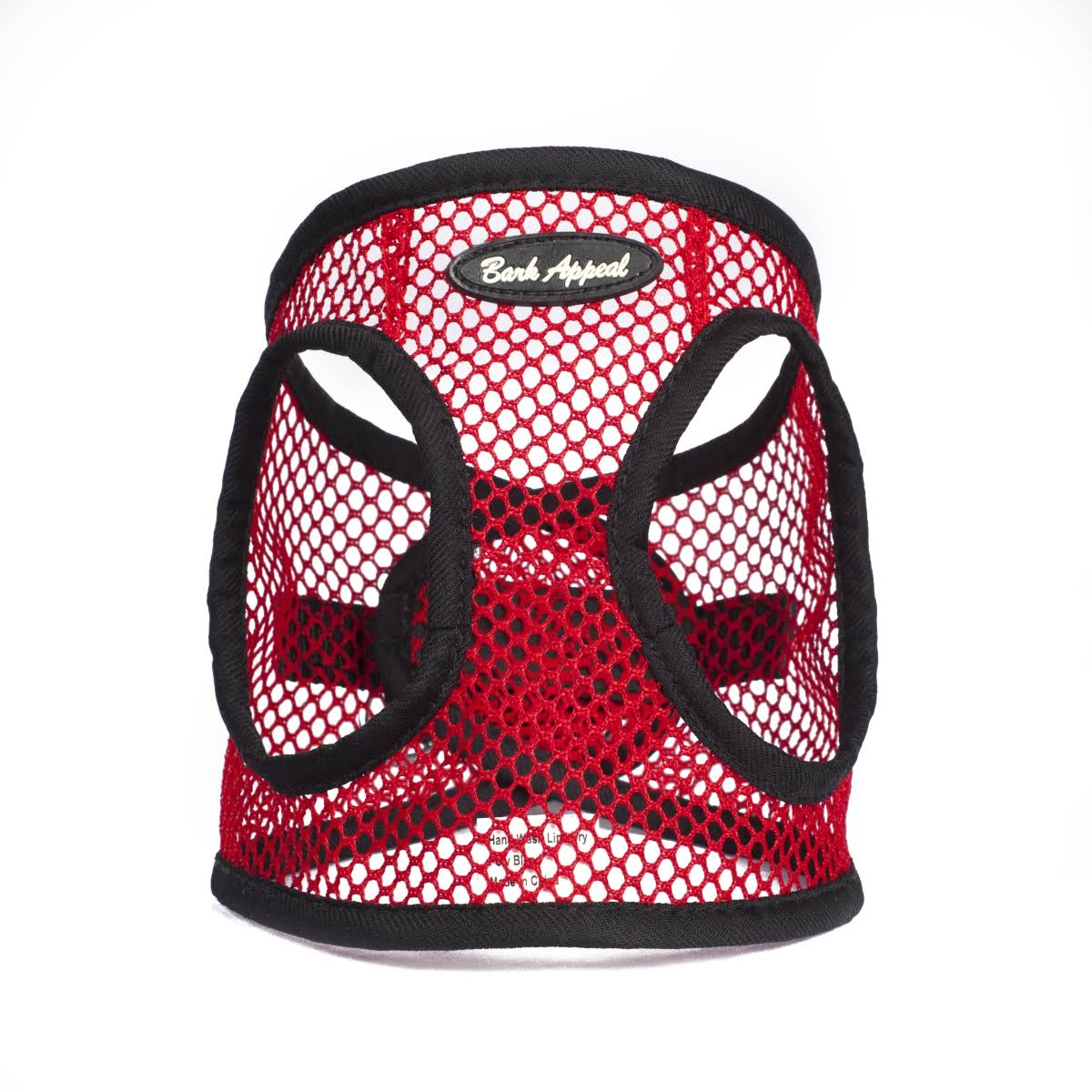 Bark Appeal SRNEW-L Netted EZ Wrap Harness Red - Large