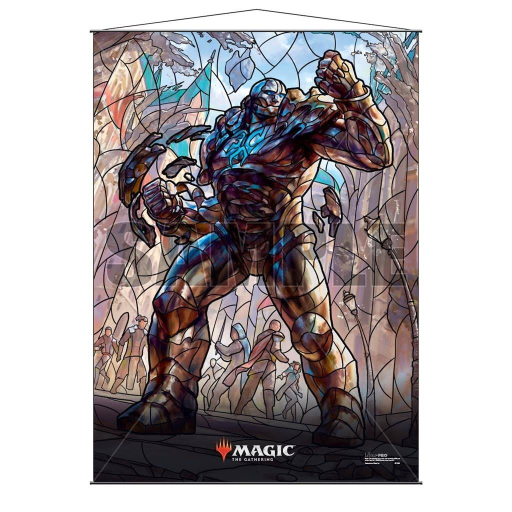 Ultra Pro Magic The Gathering Stained Glass Wall Scroll