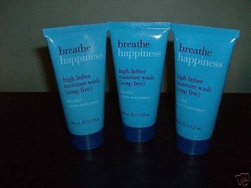 Bath & Body Works Breathe Happiness Wash Soap Free Lot of 3