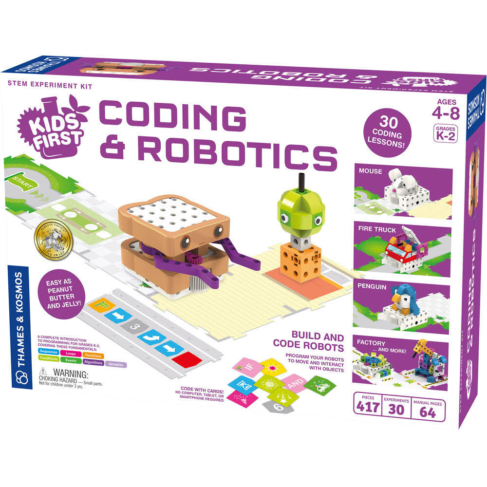 Thames and Kosmos Kids First Coding and Robotics Kit