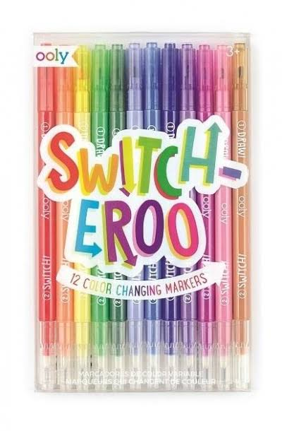 Switcheroo Color Changing Markers - 12 ct