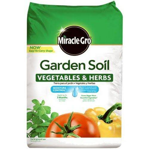 Miracle-gro Garden Soil - Vegetables and Herbs, 1.5cu ft