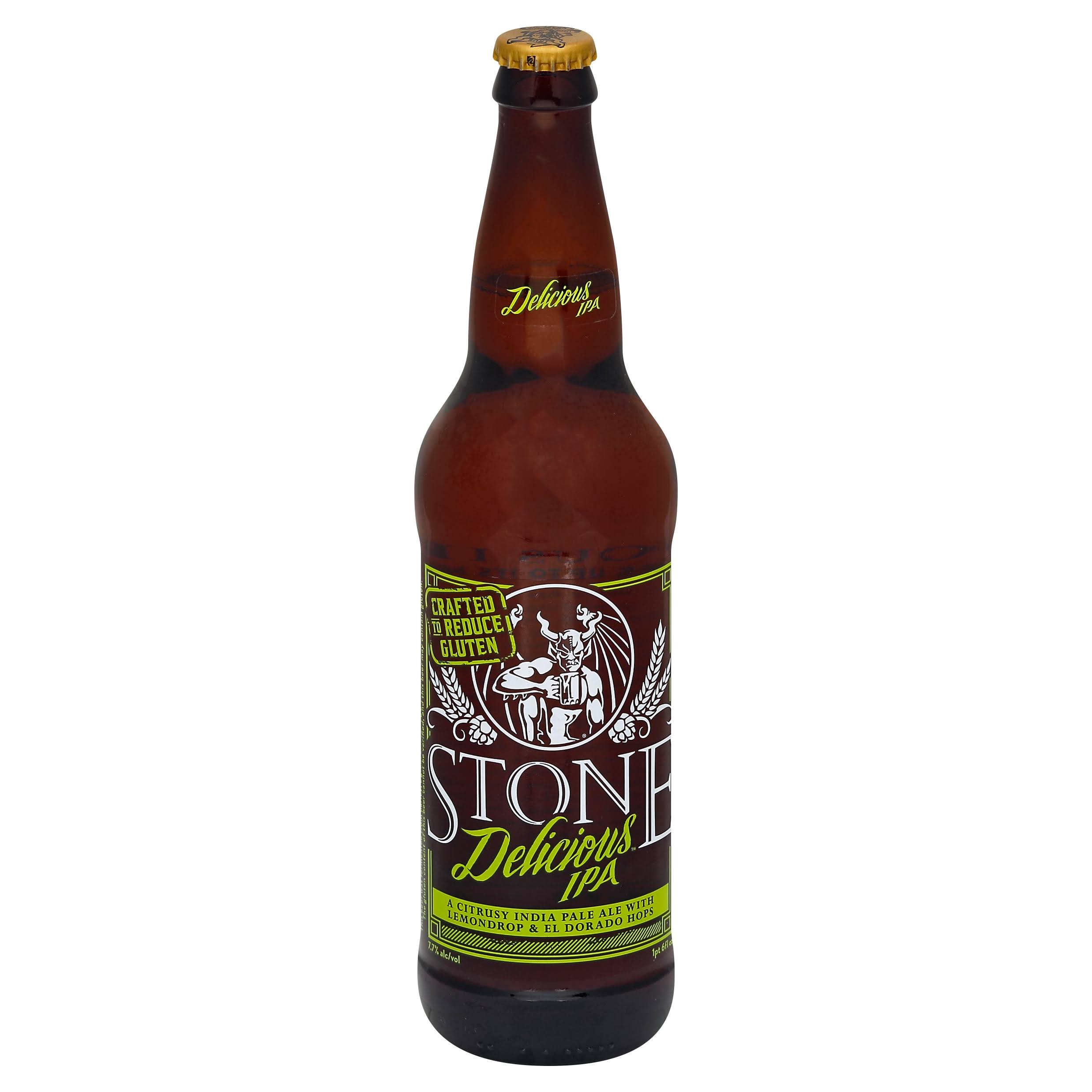 Stone Delicious IPA - 22 fl oz bottle