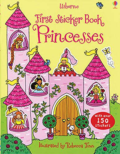 Usborne First Sticker Book: Princesses - Jessica Greenwell