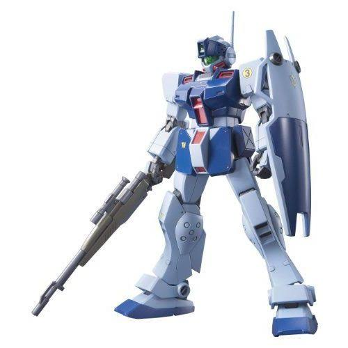 Bandai Mobile Suit Gundam GM Sniper II Construction Plastic Model Kit - 1/144 scale