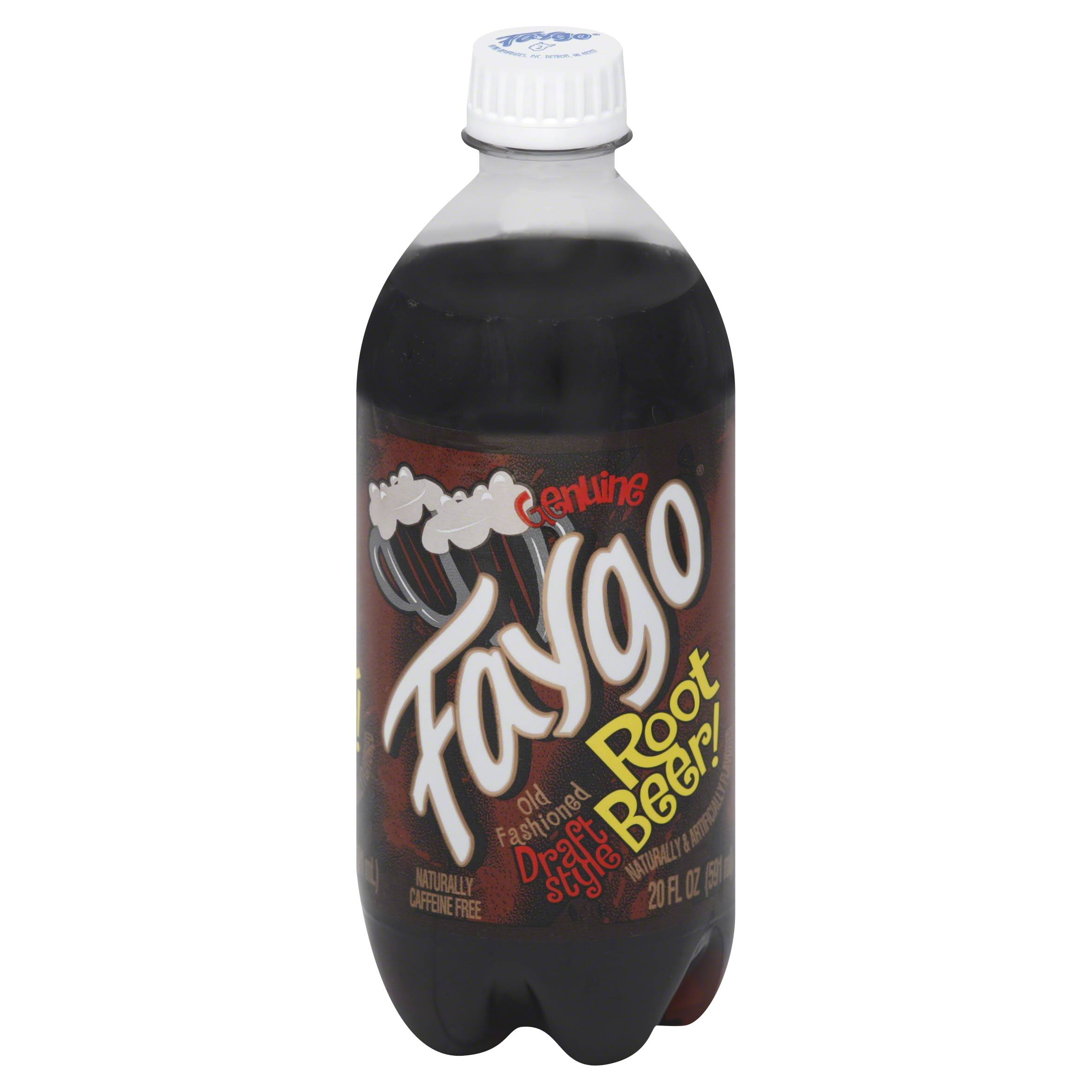 Faygo Draft Style Root Beer - 20oz