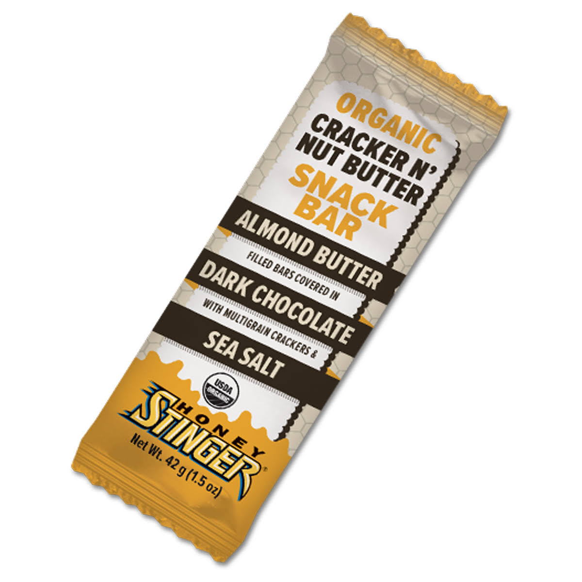 Honey Stinger Cracker N' Nut Butter, Organic, Snack Bar - 1.5 oz