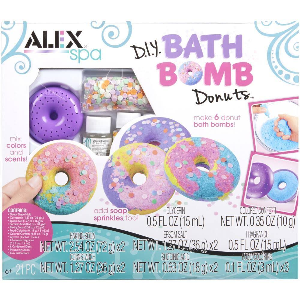 Alex DIY Spa Bath Bomb Donuts Kit