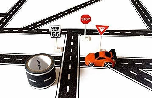 Playtape Tiny Town Cars, Toy Vehicle Accessories