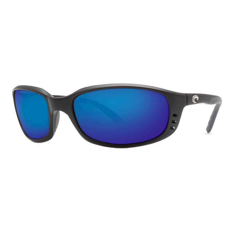 Costa Del Mar Brine Sunglasses - Matte Black/Blue
