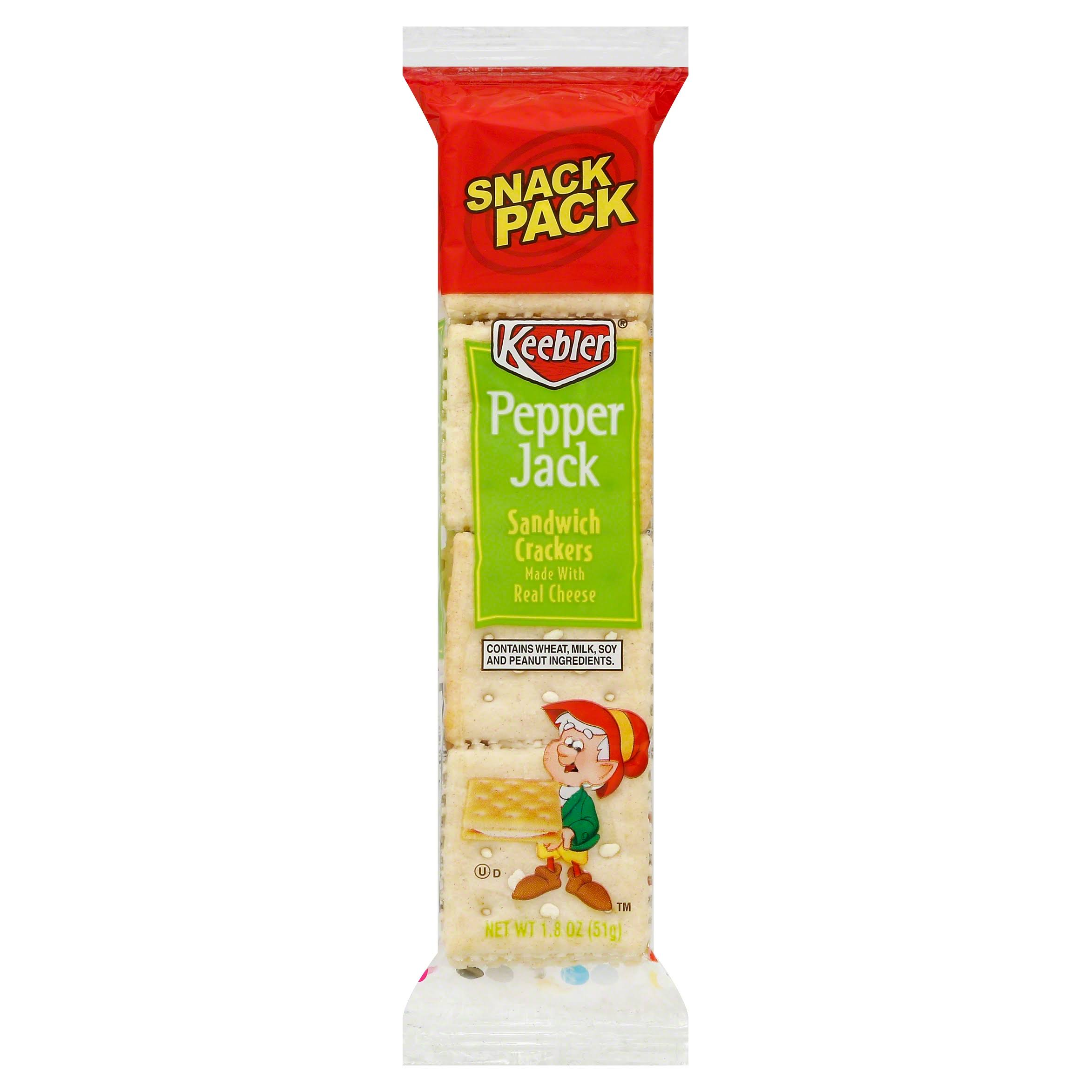 Keebler Pepper Jack Sandwich Crackers