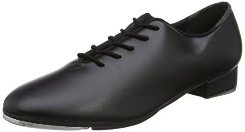 So Danca TA05 Lace Up Tap Shoe - Black, Adult US 7.5