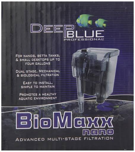 Deep Blue Professional ADB88700 Biomaxx Nano Filter For Aquarium