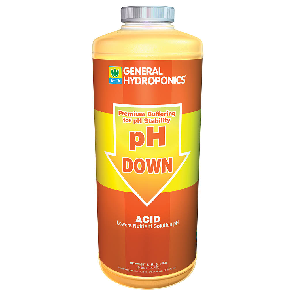 General hydroponics Ph Down Liquid Fertilizer