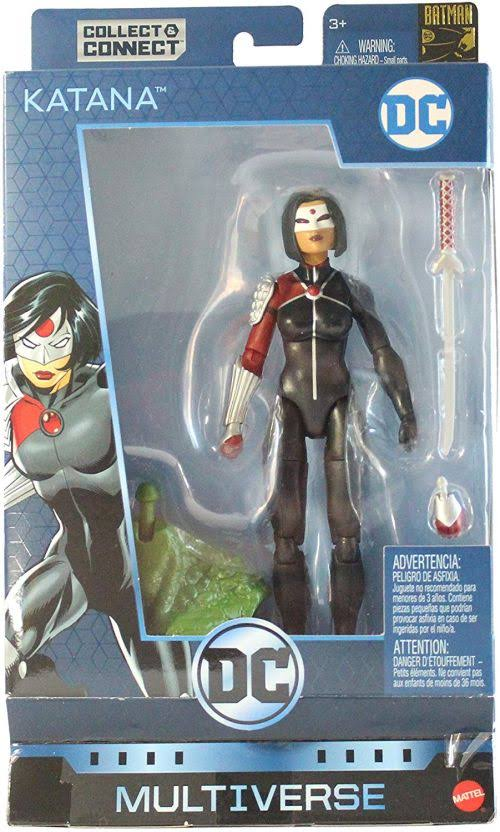 DC Multiverse Katana Action Figure