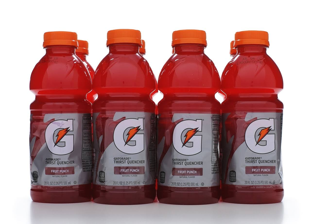 Gatorade Thirst Quencher - Fruit Punch, 591ml