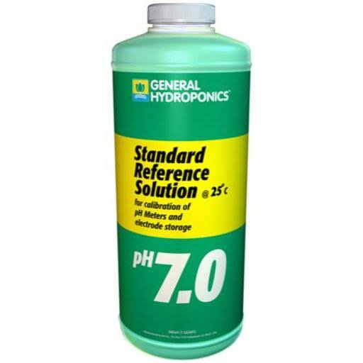 General Hydroponics pH 7.0 Calibration Solution - 1qt