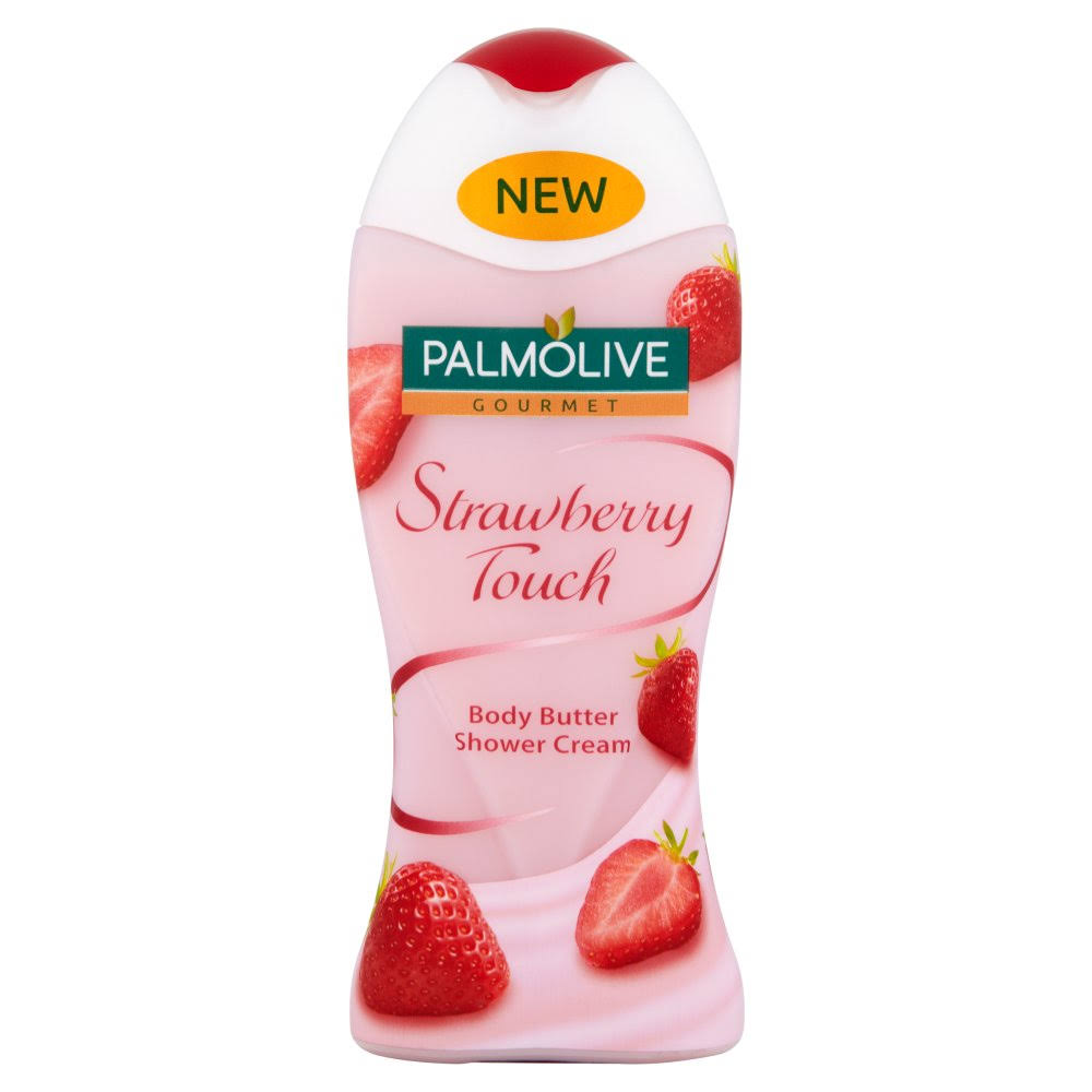 Palmolive Gourmet Body Butter Shower Gel - Strawberry Touch, 250ml