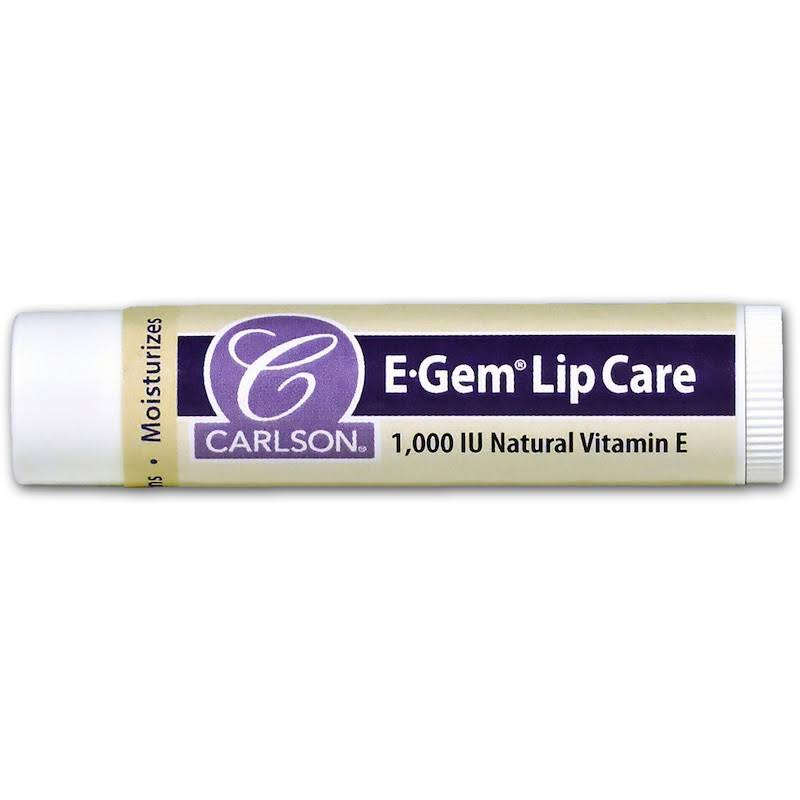 Carlson Labs E Gem Lip Care - 0.15oz