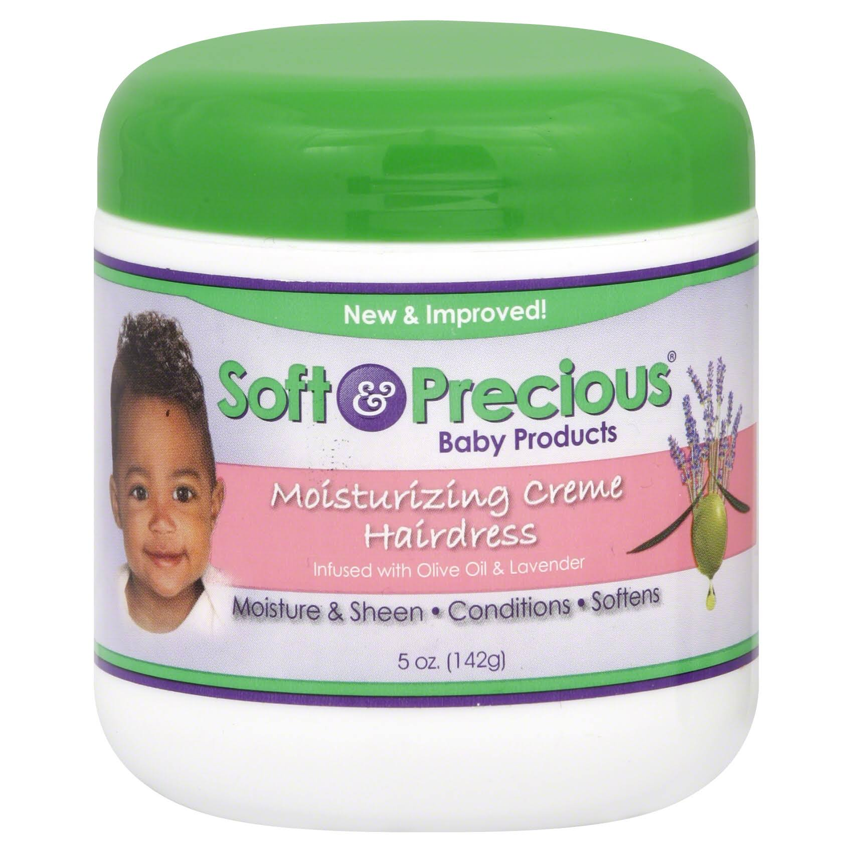 Soft and Precious Baby Products Moisturizing Creme Hairdress - Olive Oil and Lavender, 7.5oz