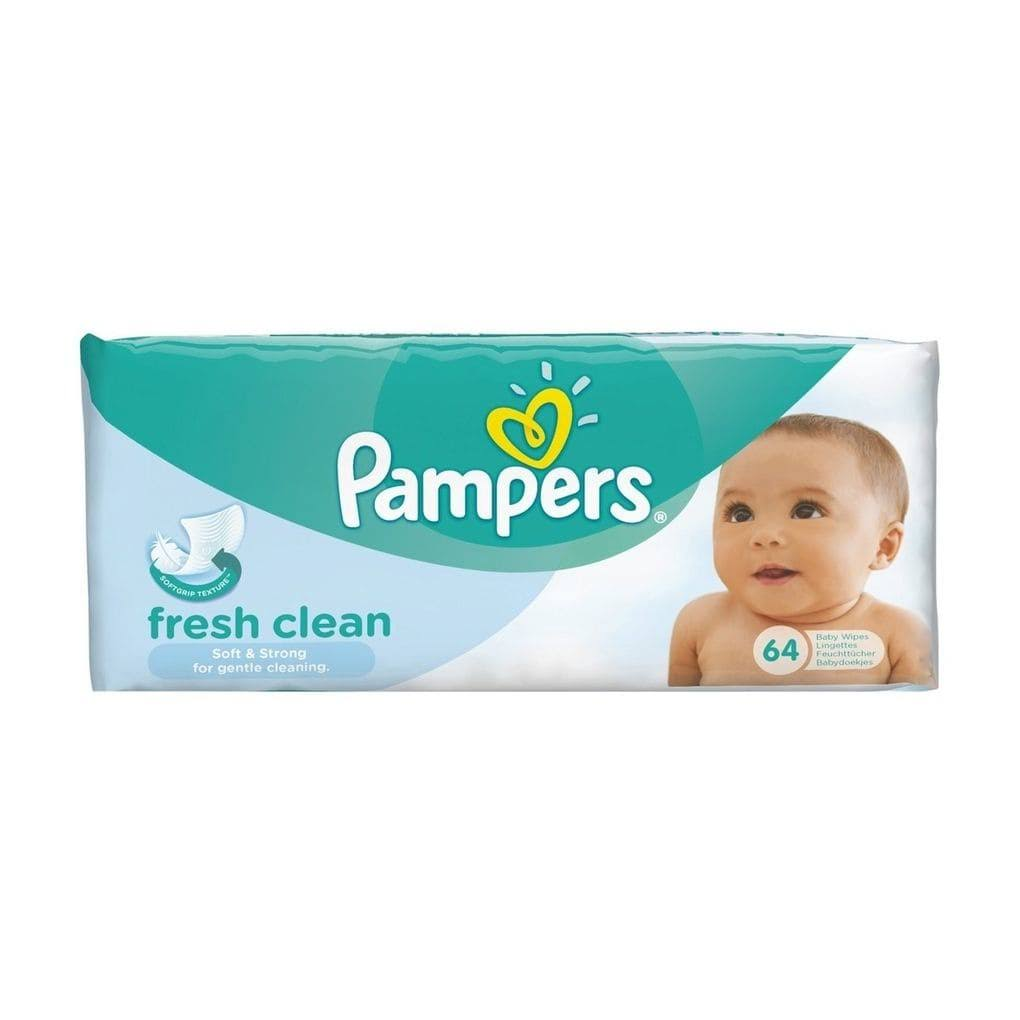Pampers Complete Clean Fresh Scent Baby Wipes - 64 Wipes