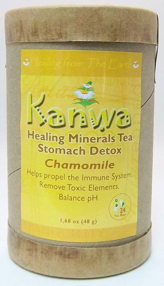 Zion Health Kanwa Tea Chamomile - 24 - Bag