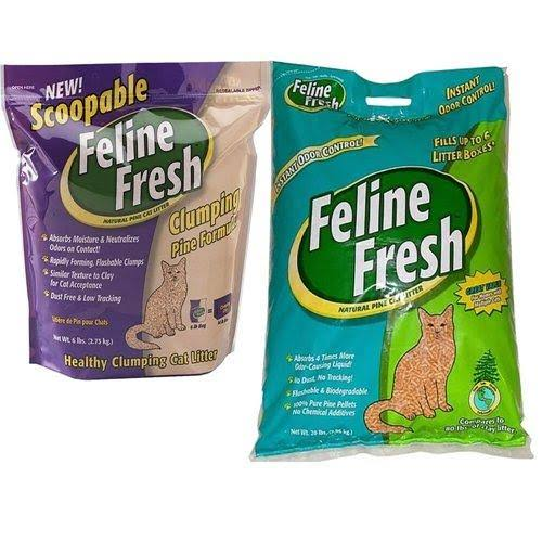 Feline Fresh Pelleted Natural Pine Cat Litter