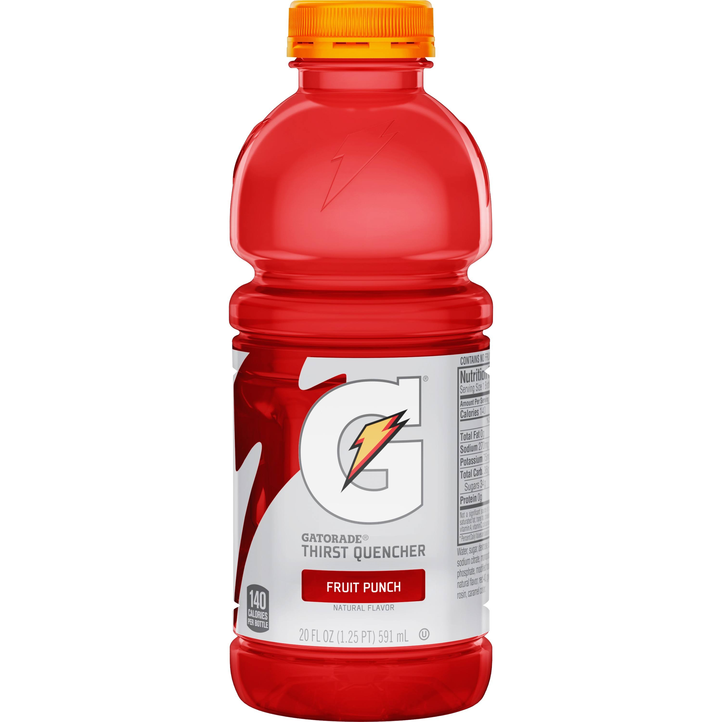 Gatorade Thirst Quencher Fruit Punch - 591ml