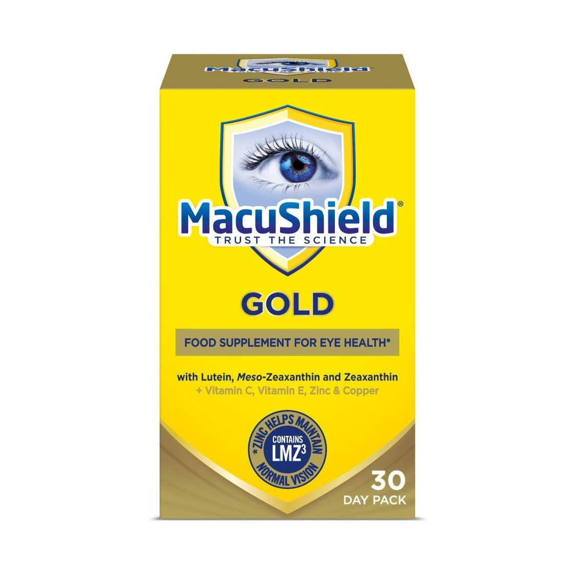 Macushield Gold (90 Capsules)