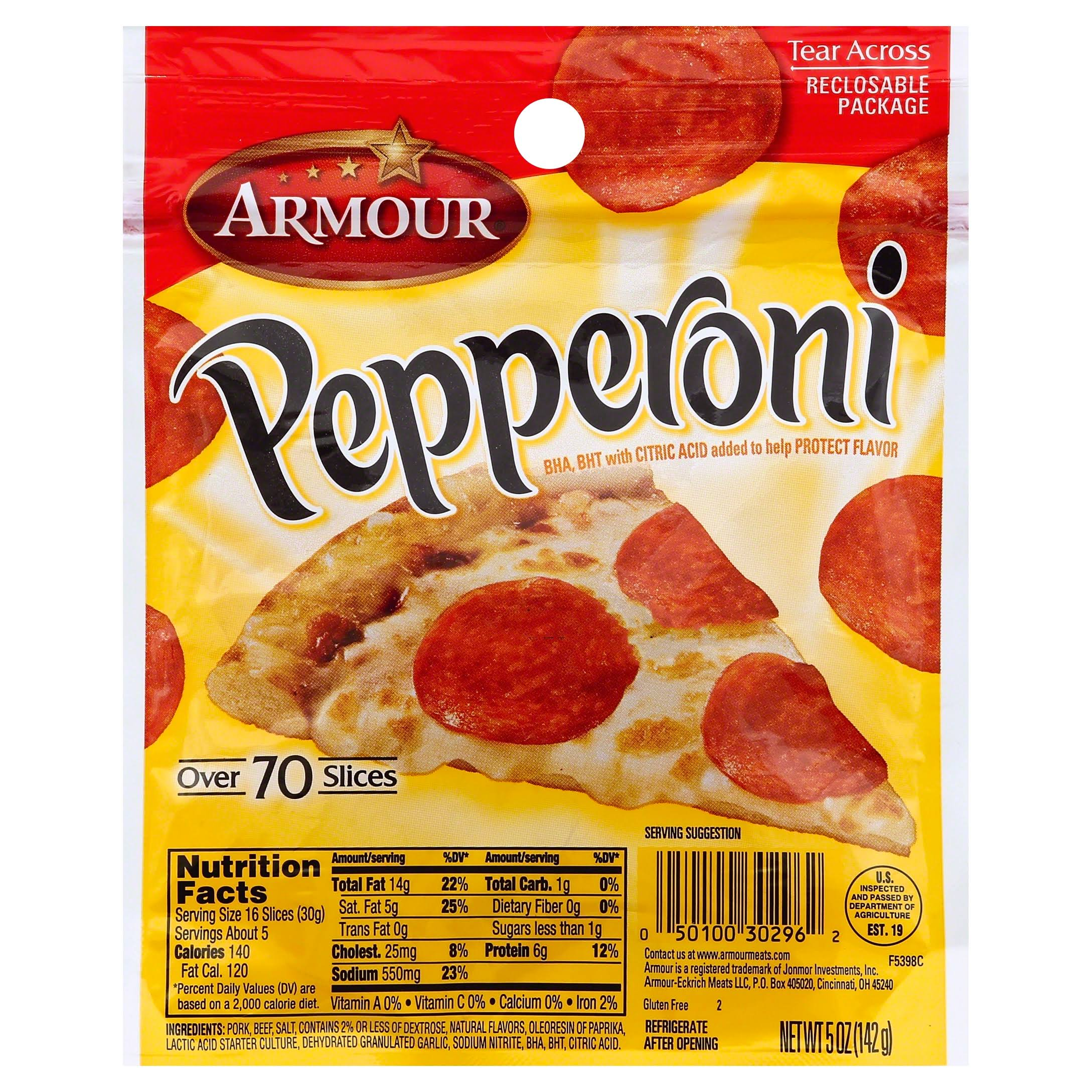 Armour Pepperoni - 5oz