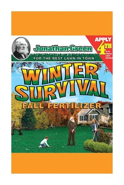 Jonathan Green and Sons Winter Survival Fall Fertilizer - 45lbs