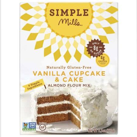 Simple Mills Vanilla Cake Mix - 11.5oz